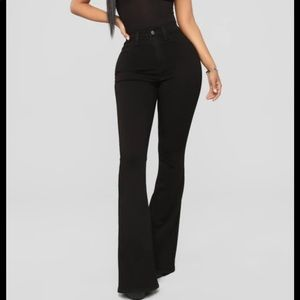Highrise flare jeans